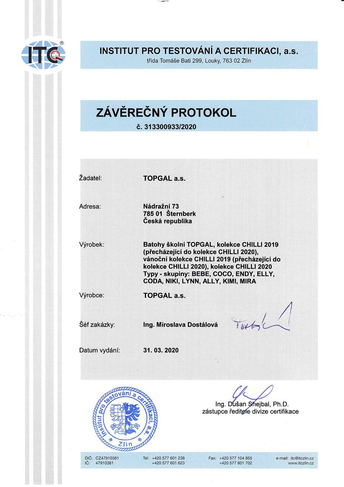 Certifikované školní batohy - strana 02