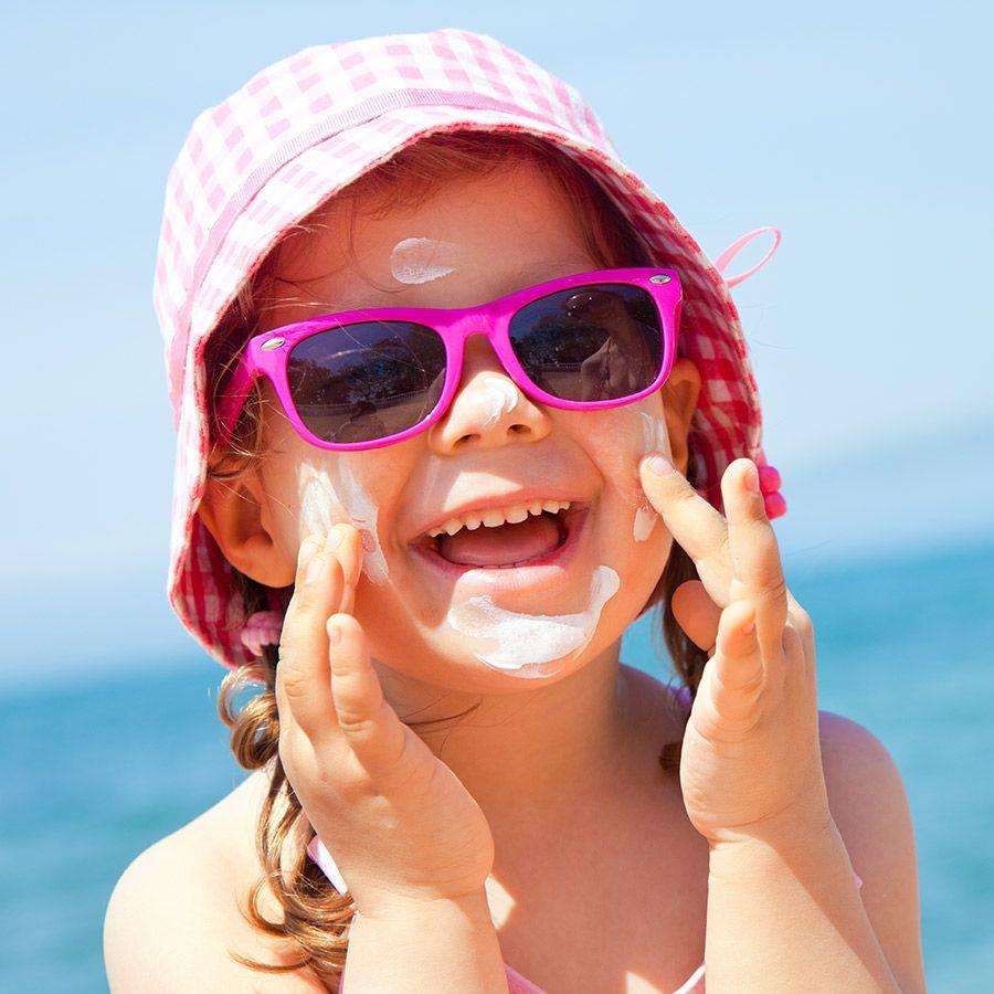 Jak ochránit děti v létě před spálením