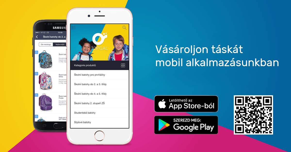 Topgal mobil alkalmazás
