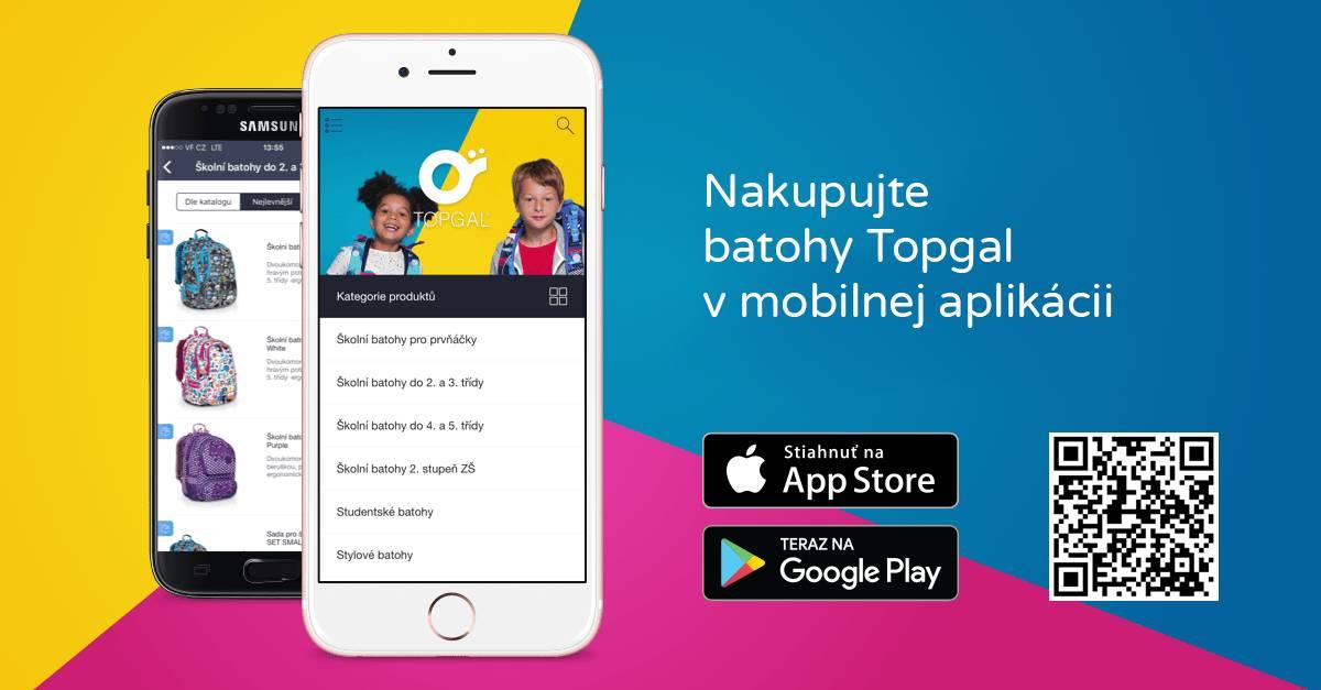 mobilná aplikácia Topgal
