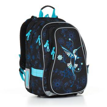 Maskáčový školní batoh LYNN 21018