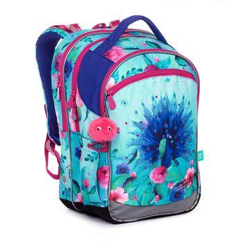 Školní batoh s motýlky COCO 20004