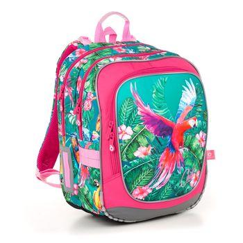 Dvoukomorový batoh s papouškem kakadu ENDY 21002