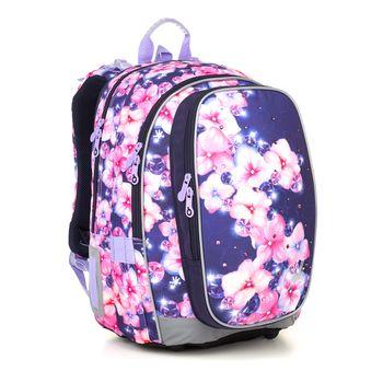 Dvojkomorová školská taška MIRA 21019
