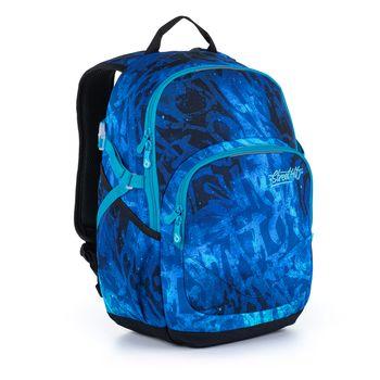 Modrý studentský batoh YOKO 21035