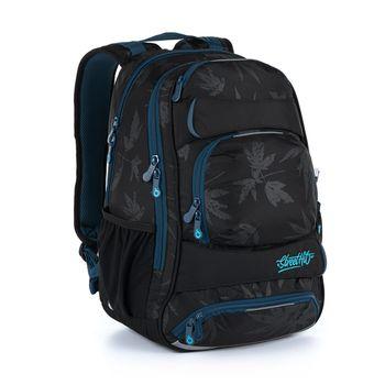 Studentský batoh s listy YUMI 21034
