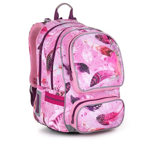 Školní batoh s peříčky ALLY 20044
