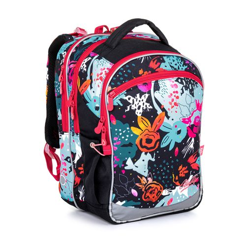 Pestrý školní batoh  COCO 21006