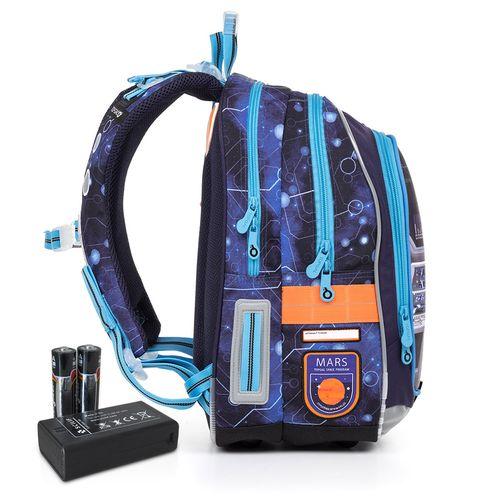 Svítící školní batoh ENDY 17003 BATTERY AA