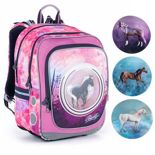 Taška s koníkom pre najmenšie školáčky ENDY 21005