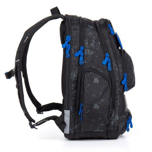 Černý studentský batoh HIT 882