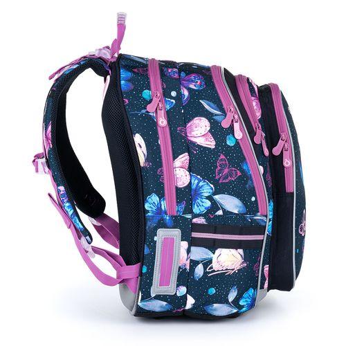 Školní batoh s motýlky  LYNN 21007