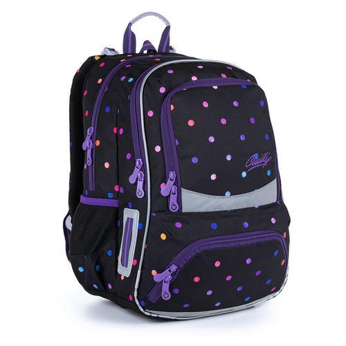 Školní batoh s puntíky NIKI 21011