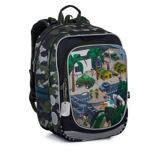 Školní batoh minecraft vojenský ENDY 21016
