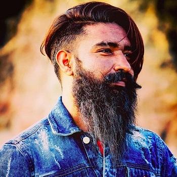 Celebrity Sandip Samad (Beard Icon) - Tring India