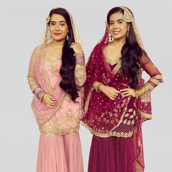 Celebrity Prakriti & Pragya - Tring India