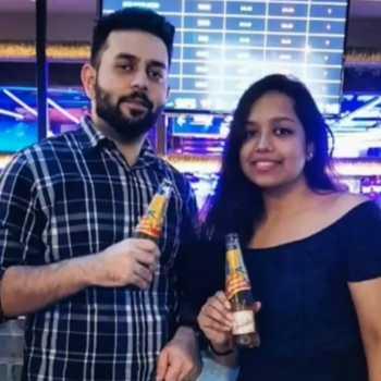 Celebrity Anish & Kani Kapur - Tring India