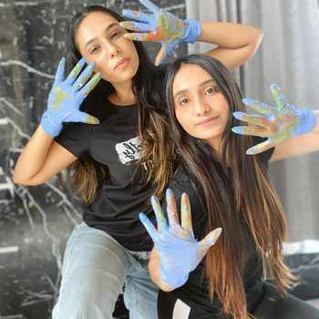 Celebrity Jesika & Twinkle - Tring India