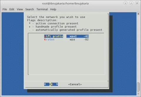 Arch Linux - Cara Connect Wi-Fi dengan Terminal