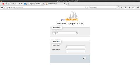 Cara Install PhpMyAdmin di Arch Linux (nginx)