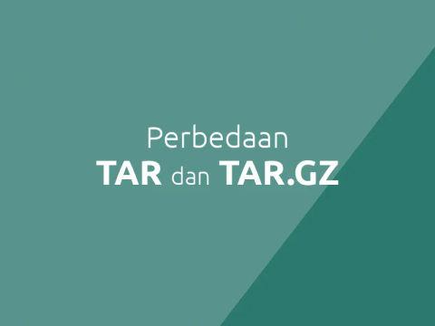 Perbedaan antara .TAR dan .GZ