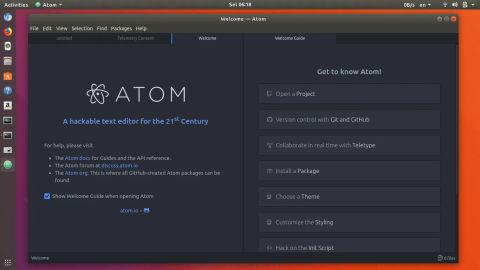 4 Cara Terbaru Install Atom di Ubuntu