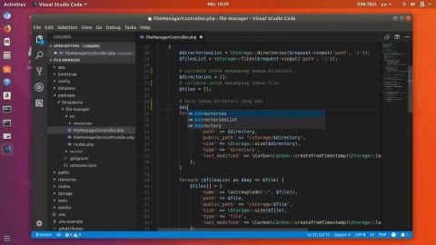 Visual Studio Code dan Cara Installnya di Ubuntu