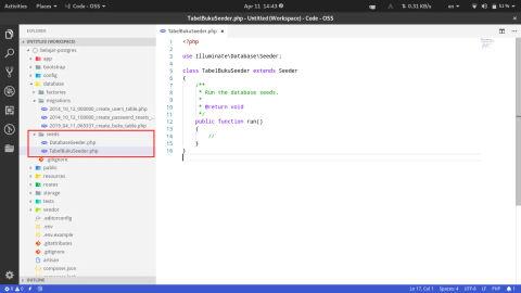 Konfigurasi Laravel dan PostgreSQL Beserta Contoh Migration