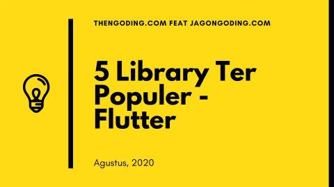5 Library Terpopuler di Flutter