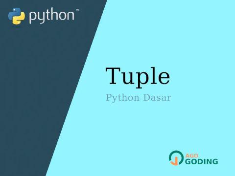 Python Dasar: Tuple 🐍