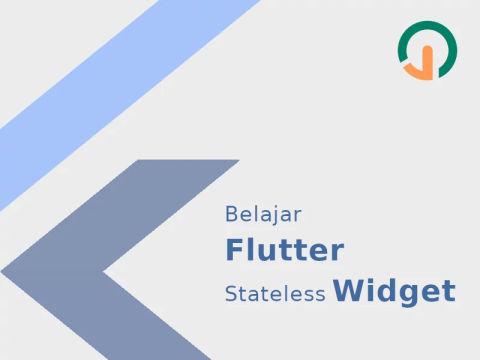 Flutter Stateless Widget