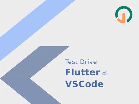 Test Drive Flutter Di VSCode