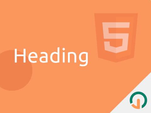 HTML Dasar: 6 Jenis Heading