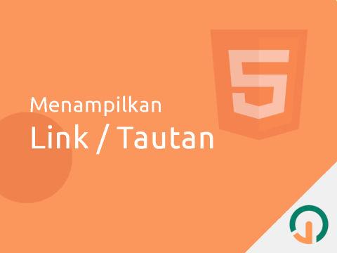 HTML Dasar: Link
