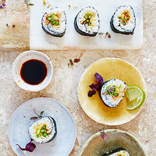 Learn the art of sushi at the Jamie Oliver Cookery School