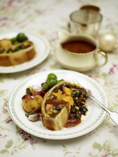 Vegetarian Wellington Vegetables Recipes Jamie Oliver Recipes