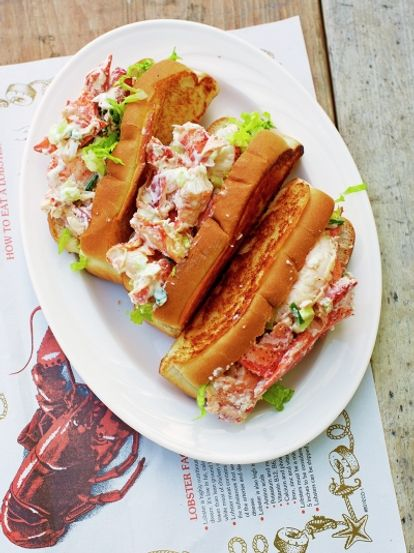 grilled lobster rolls seafood recipes jamie oliver. Black Bedroom Furniture Sets. Home Design Ideas