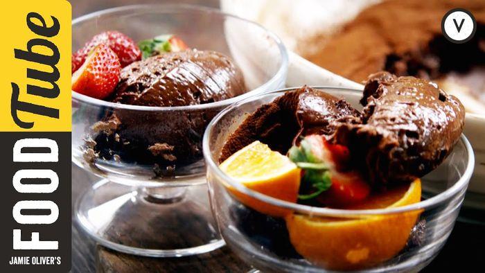 Jamie's Amazing Chocolate Mousse