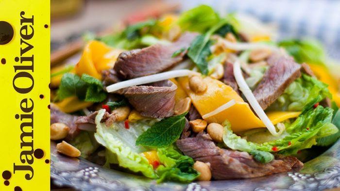 Tasty Thai Beef & Mango Salad