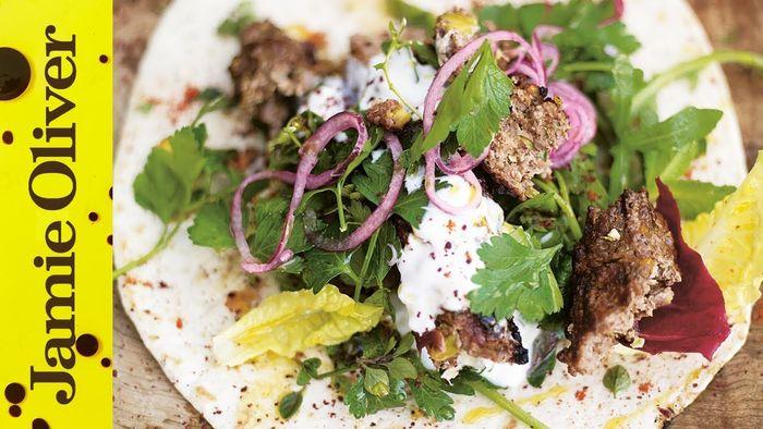 Grilled Lamb Kebabs – Jamie at Home