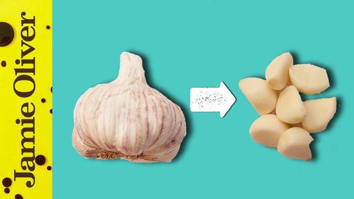 How To Easily Peel Garlic