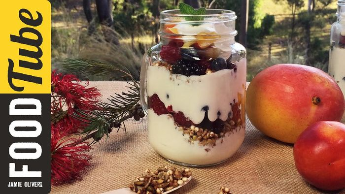 Fruit & Muesli Yogurt Parfait