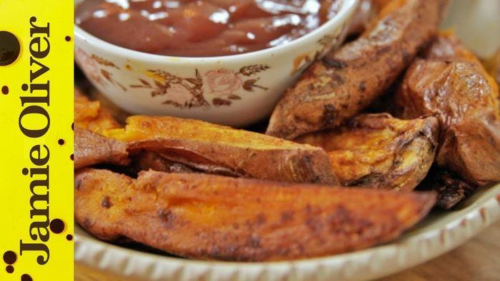 Roast Sweet Potato Wedges
