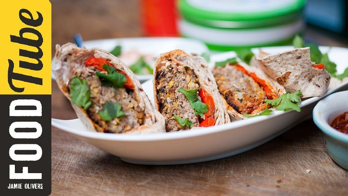 Moroccan Lamb Burgers with Sortedfood