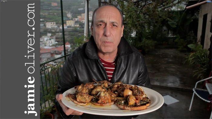 Gennaro's Chicken with Chilli, Garlic and Rosemary