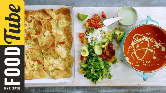 Jamie's Mexican Tomato Soup