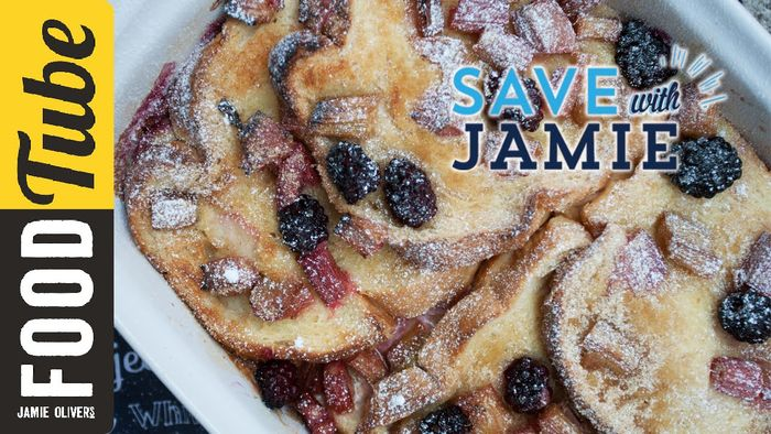 Fruity Bread & Butter Pudding