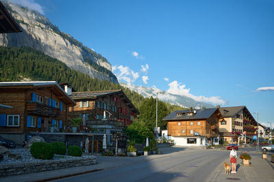 A Swiss Alps village