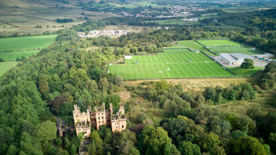 Lennox Castle from the air