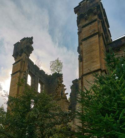 Lennox Castle - inside